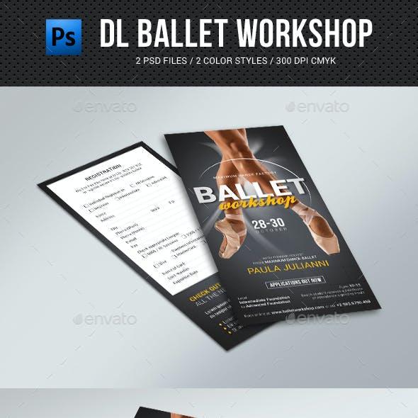 DL Ballet Workshop Flyer
