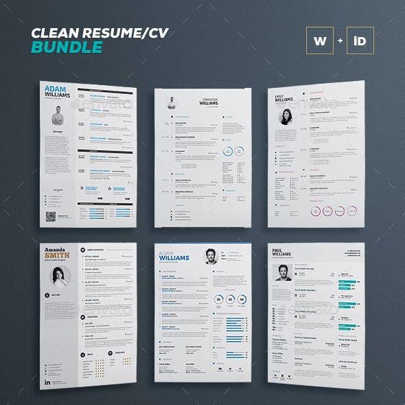 Clean Resume Bundle