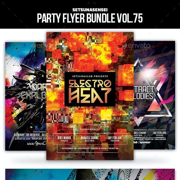 Party Flyer Bundle Vol.75