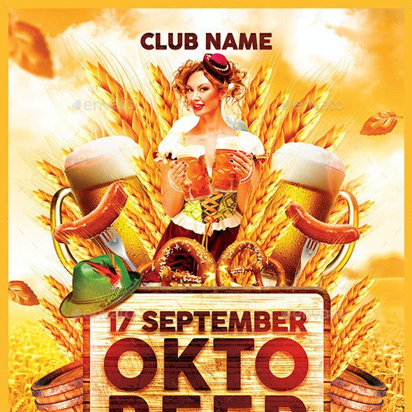 Oktobeer Fest Flyer