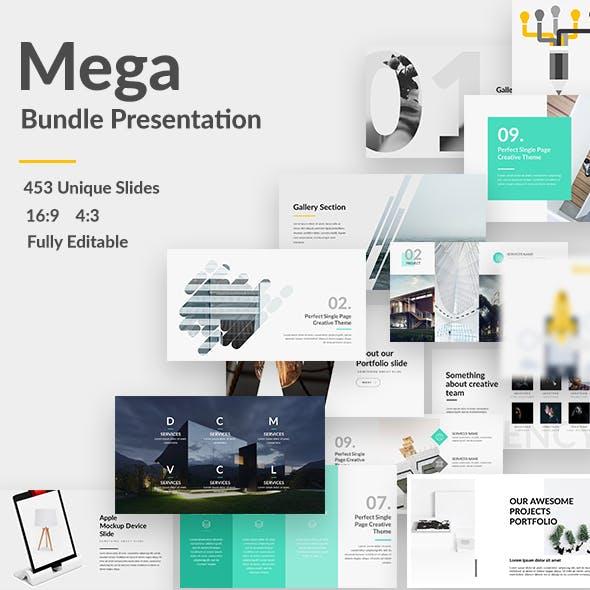 5 in 1 Mega Bundle Keynote Template