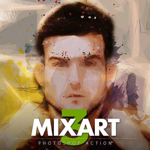 Mixart 3 Photoshop Action