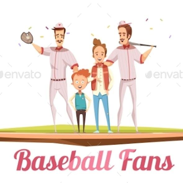 Baseball Fans Design Concept