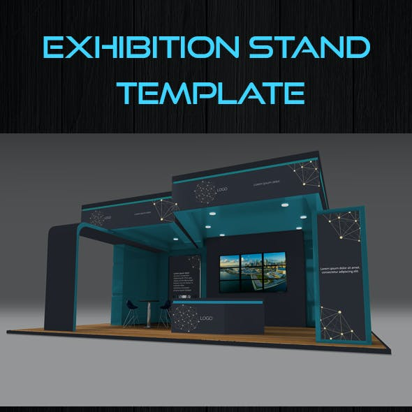 Exhibition Stand Mock Up Templates
