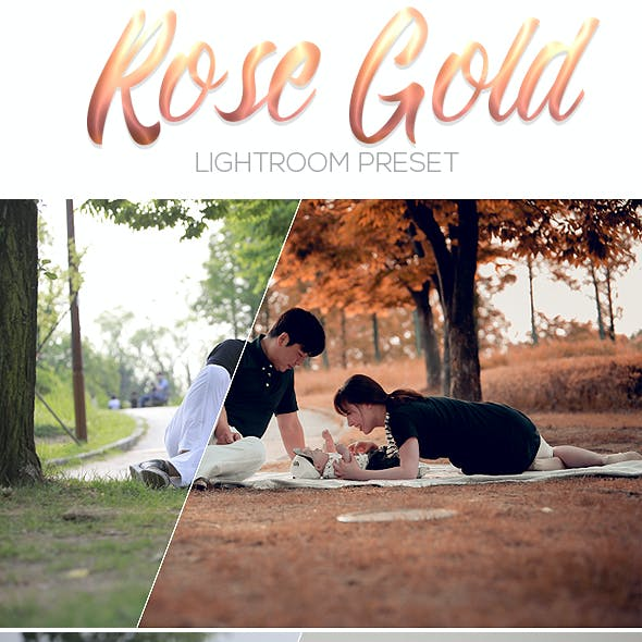 Rose Gold Lightrom Preset