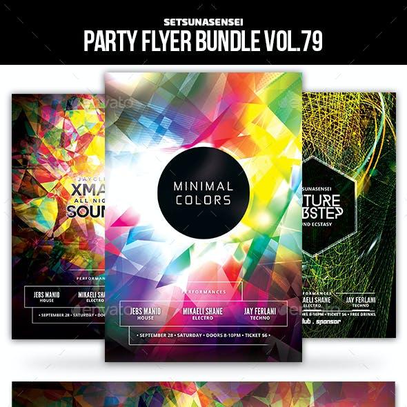 Party Flyer Bundle Vol.79