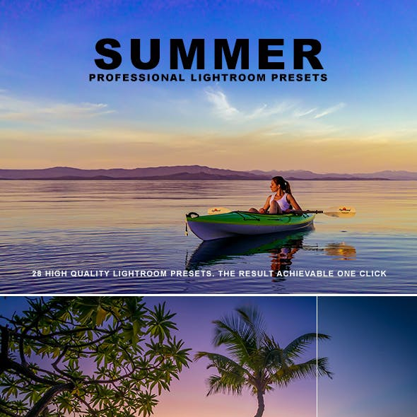 Summer Pro Lightroom Presets
