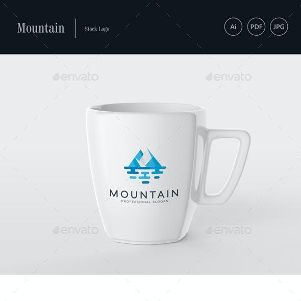 Mountain Stock Logo