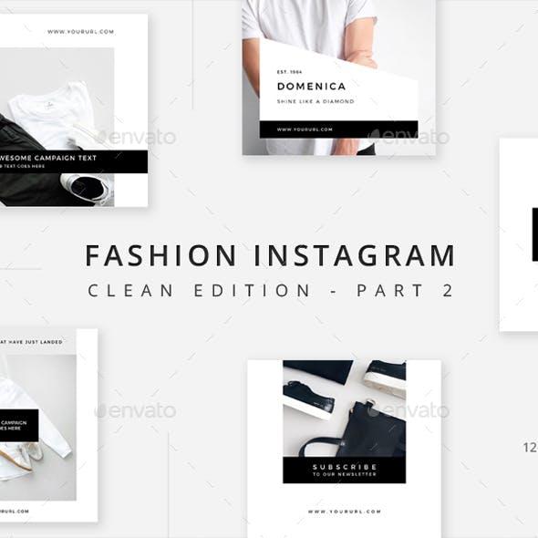 Fashion Instagram - Clean Edition - Part 2