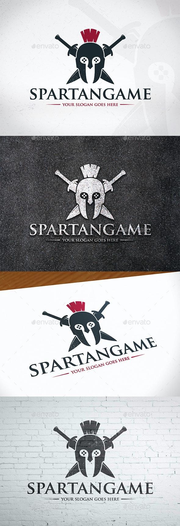 Spartan Gaming Logo Design