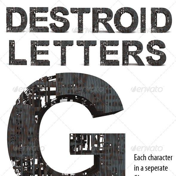 Destroid Letters