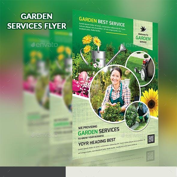 Garden Services Flyer Template