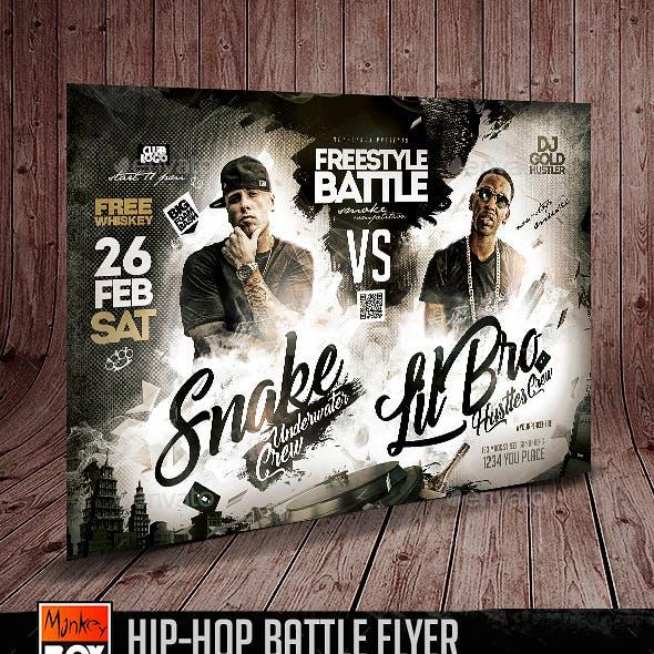 Hip-Hop Battle Flyer