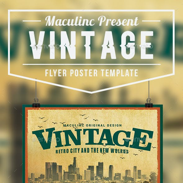 Vintage Flyer/Poster Vol.8