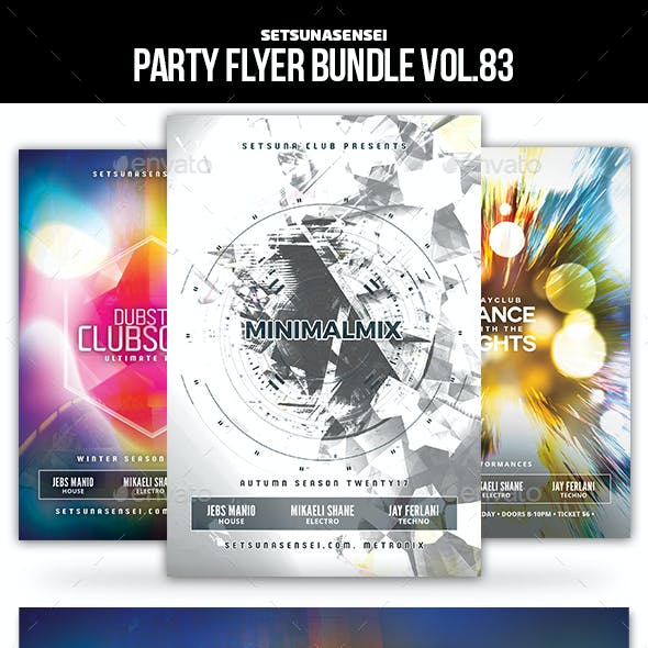 Party Flyer Bundle Vol.83