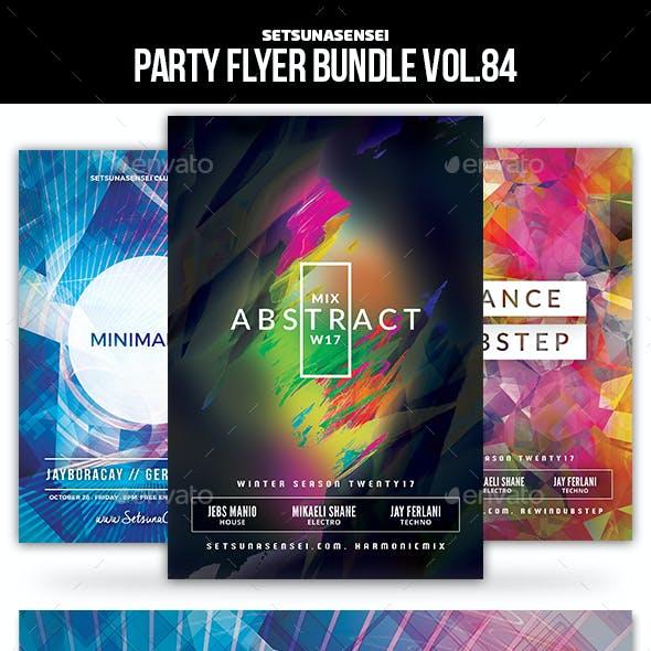 Party Flyer Bundle Vol.84
