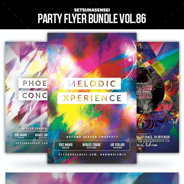 Party Flyer Bundle Vol.86