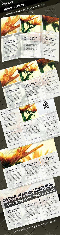 Tri Fold Brochure V4 - Corporate Brochures