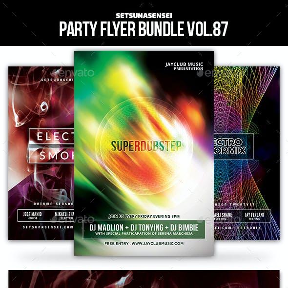 Party Flyer Bundle Vol.87