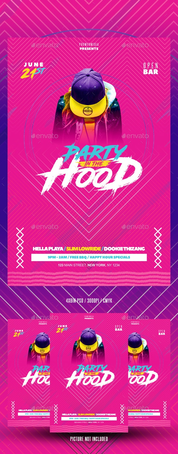 Modern Colorful Flyer - Events Flyers