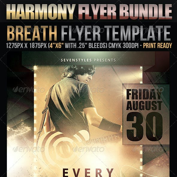 Harmony Flyer Bundle