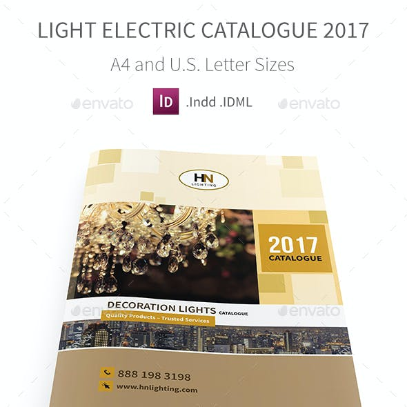 Light Electric Catalogue 2017