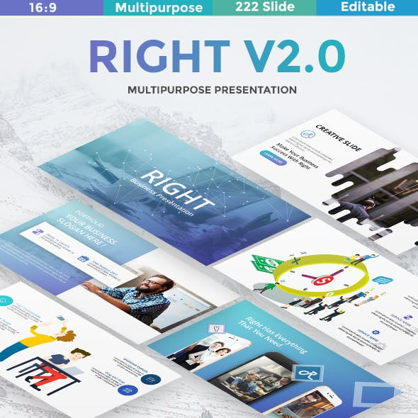 Right v2 Multipurpose Google Slide Template