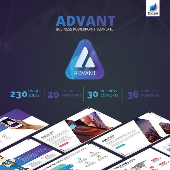 Advant Business PowerPoint Template