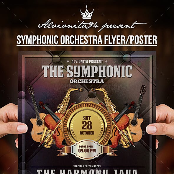Symphonic Orchestra Flyer / Poster