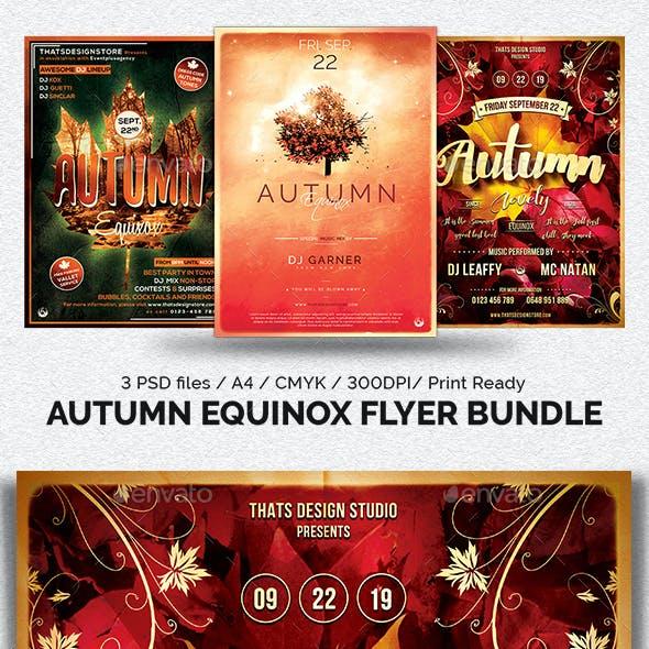Autumn Equinox Flyer Bundle