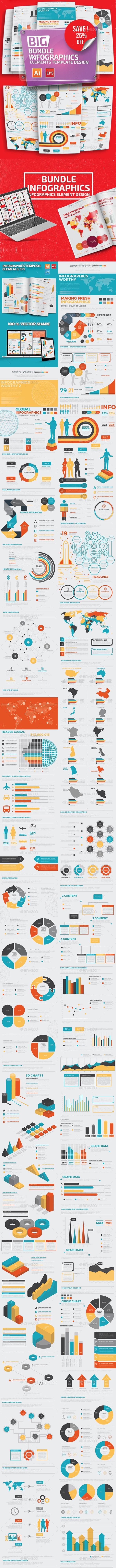 Bundle Infographic Elements - Infographics