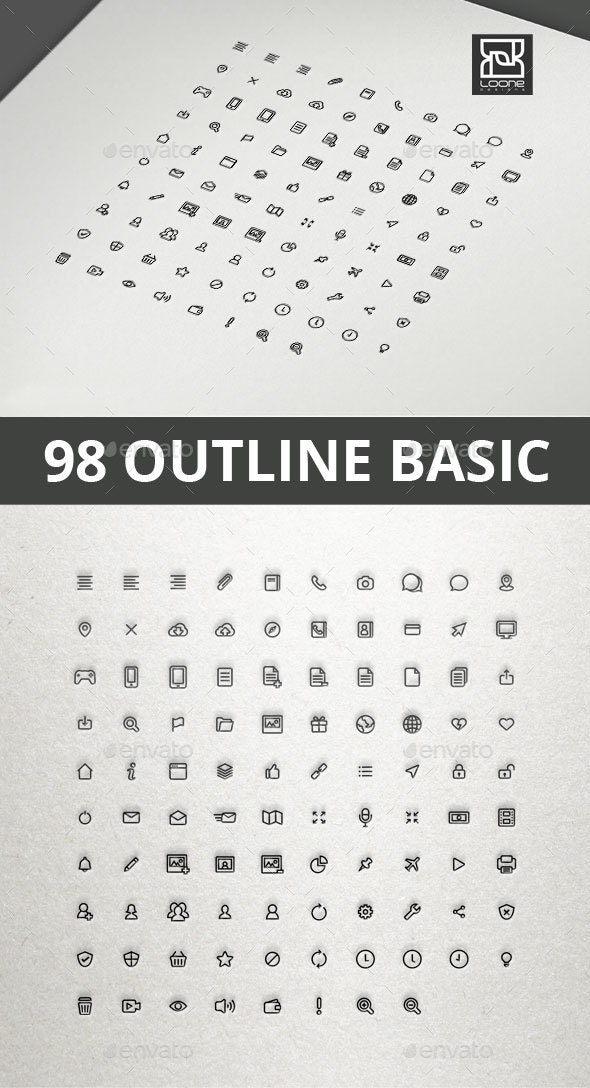 Outline Basic Interface Icon