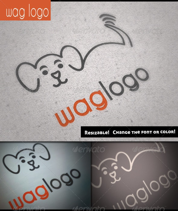 Wag Logo Pack - Animals Logo Templates