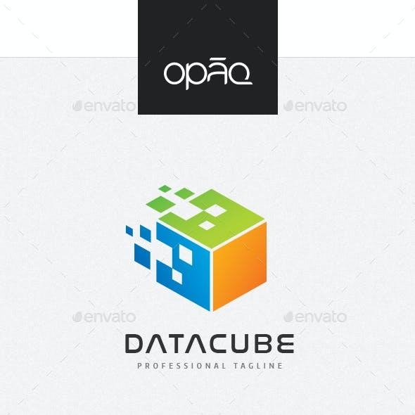 Pixel Data Cube Logo