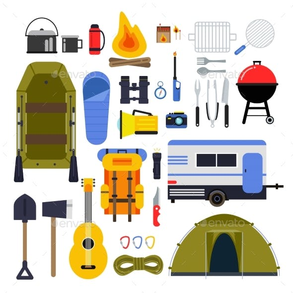 Camping Equipment for Travel Hiking Accessories