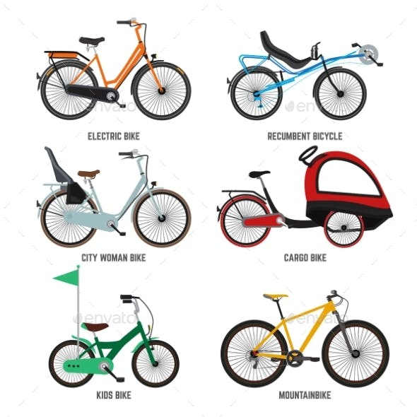 Different Type of Bicycles for Male Female