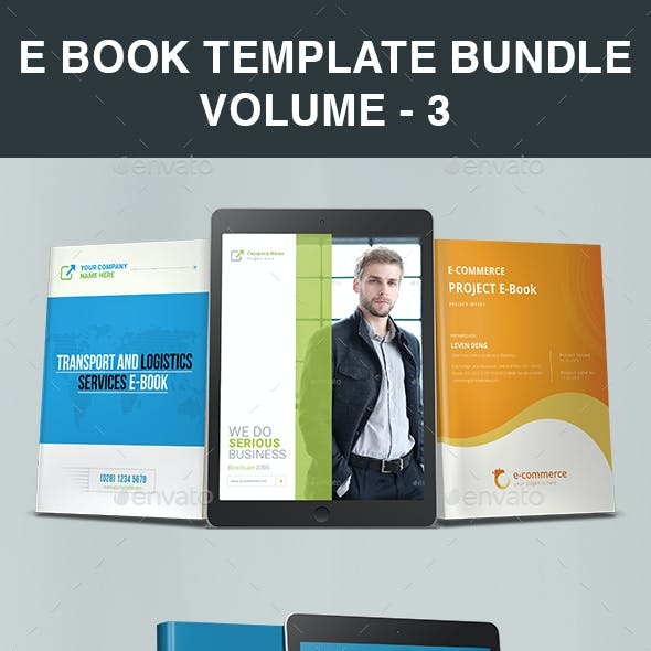 E Book Template Bundle | Volume - 3
