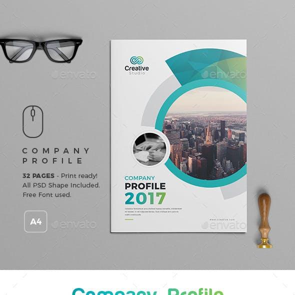 2017 Company  Profile Template