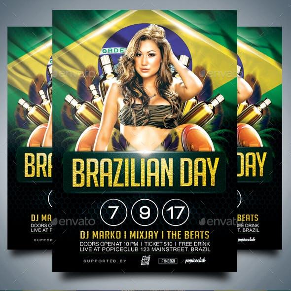 Brazilian Day Flyer