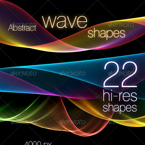 Abstract Wave Shapes