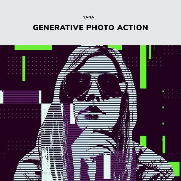 Yana Generative Geometric Action