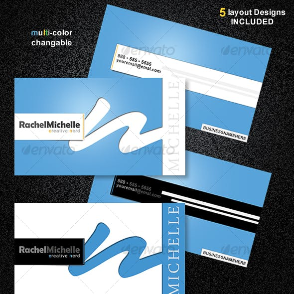 CleanPro Business Card Set