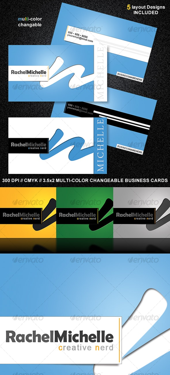 CleanPro Business Card Set - Creative Business Cards