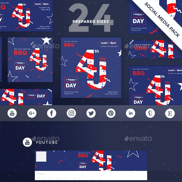 Independence Day Social Media Pack