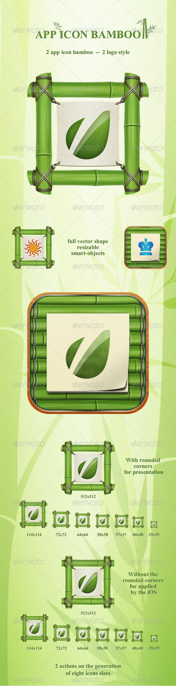 App Icon Bamboo - Software Icons