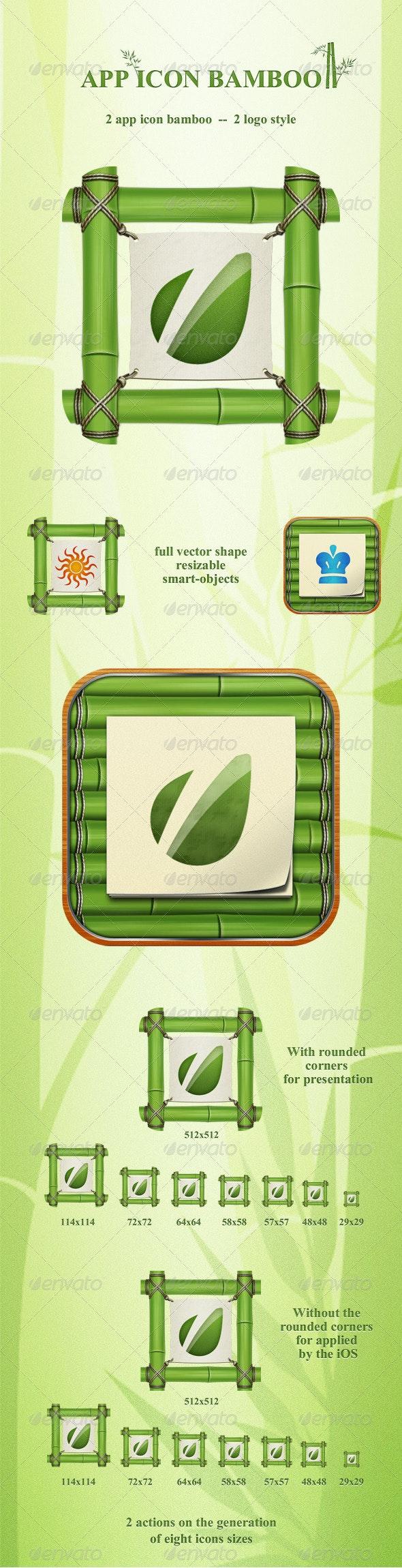 App Icon Bamboo