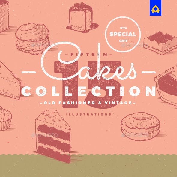 Vintage Cakes Collection