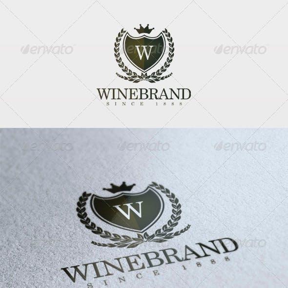 Wine Brand Logo