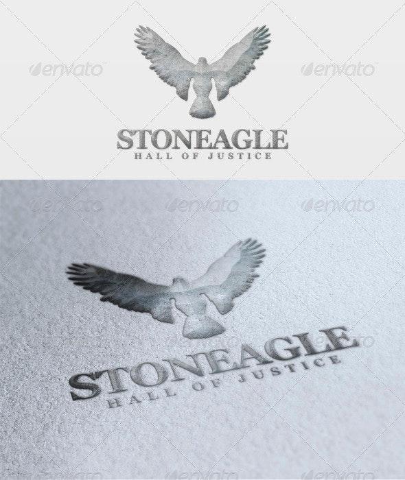 Stone Eagle Logo - Animals Logo Templates