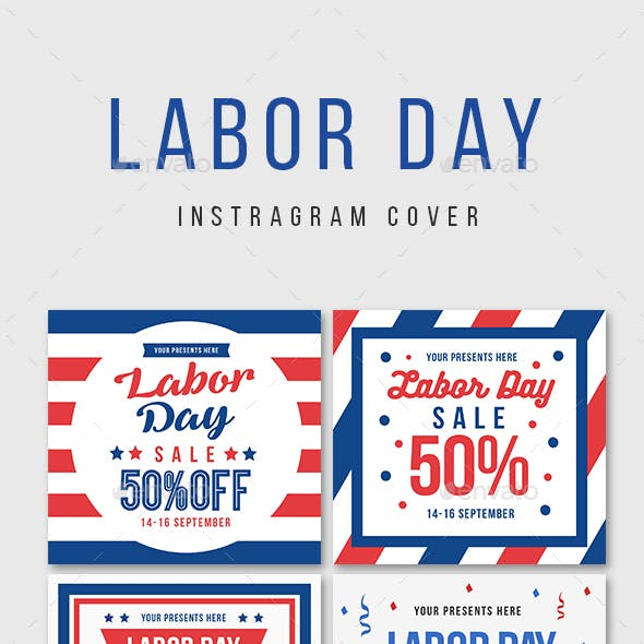 Labor day Instagram Cover